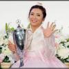 【画像】賞金女王イ・ボミ、日本語上達の鍵は日本人キャディの彼氏?