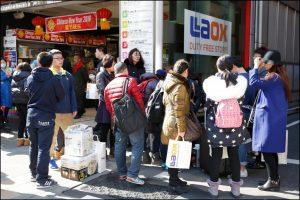 中国人観光客、爆買い