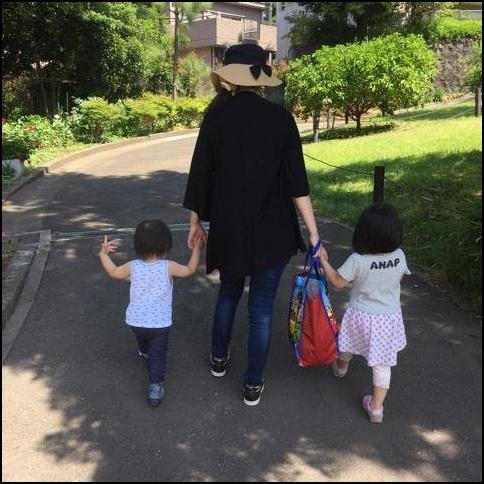 市川海老蔵、ブログ、家族写真