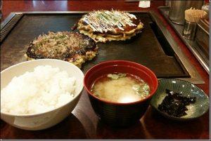 W炭水化物、大阪、定食