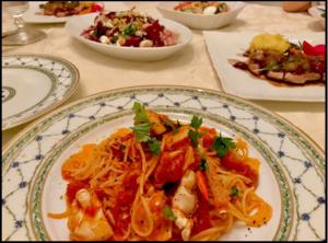 小倉優子、ブログ、料理
