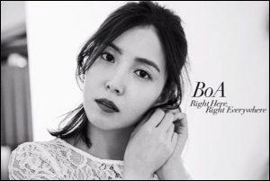 屋根裏の恋人、主題歌、Right Here,Right Everywhere/BoA