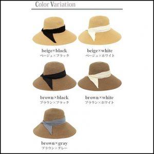 レディース、麦わら帽子、折りたたみ可能、オススメ、オシャレ