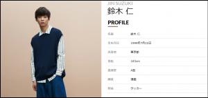 韓国系イケメン、鈴木仁、白衣の戦士、ドラマ、モデル、ブレイク