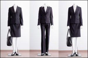 女性、新入社員、スーツ、着こなし、入社後