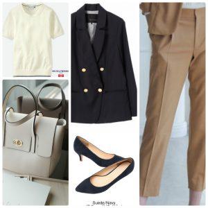 女性、新入社員、スーツ、着回し、着こなし、入社後