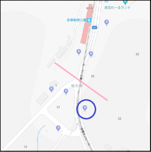 2019GW、多摩動物公園、近隣駐車場、料金、距離、混雑状況