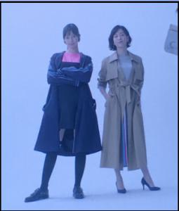 白衣の戦士、水川あさみ、1話、スカート、コート、シャツ、どこのブランド?