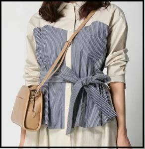 東京独身男子、仲里依紗、衣装、2話、シャツ、スカート