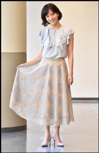 水川あさみ、1話、白衣の戦士、衣装、スカート、どこのブランド?