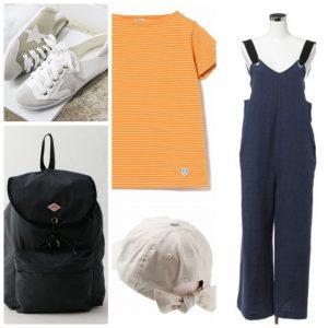 2019、運動会、ママ、服装、ファッション、コーデ、Tシャツ、目立つ