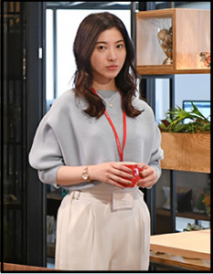 わたし定時、第4話、吉高由里子、衣装、パンツ、どこのブランド?