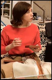 東京独身男子、第4話、仲里依紗、衣装、スカーフ付トップス、どこのブランド?