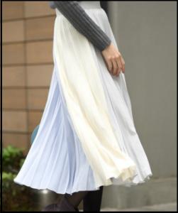 わたし定時、5話、吉高由里子、衣装、プリーツスカート、どこのブランド?