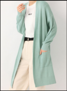 わたし定時、5話、吉高由里子、衣装、ロングカーディガン、どこのブランド?