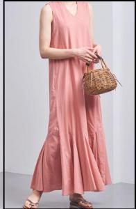 パーフェクトワールド、第5話、山本美月、衣装、ピンクマキシ丈ワンピース、どこのブランド?