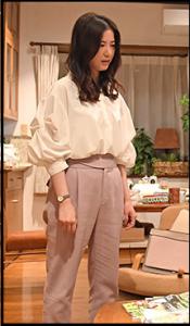 わたし定時で帰ります、第7話、吉高由里子、衣装、ボトムス、パンツ、ブランドどこの?