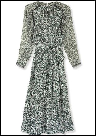 わたし定時、3話、吉高由里子、衣装、花柄ワンピース、どこのブランド?スカートは?