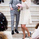 2019【結婚式】20代ゲスト服装、黒・ネイビーは品と華やかさが絶対条件