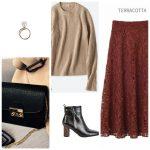 40代・50代【着痩せコーデ】-5キロの秋冬ファッション・スカート編。