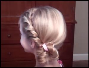 子供、女の子、浴衣、似合う、髪型、ヘアアレンジ、不器用、動画