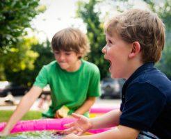 子供いる夏休み、幼稚園、低学年、毎日何する?、家外、家の中