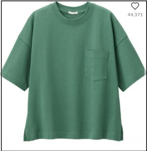 2019秋物 先取り Tシャツ ダーク色 オススメ GU ユニクロ ヘインズ