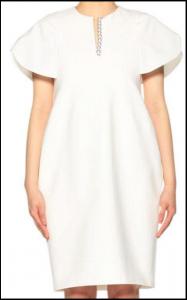 滝川クリステル 結婚会見 衣装 白のワンピース アクセサリー ブランドは?