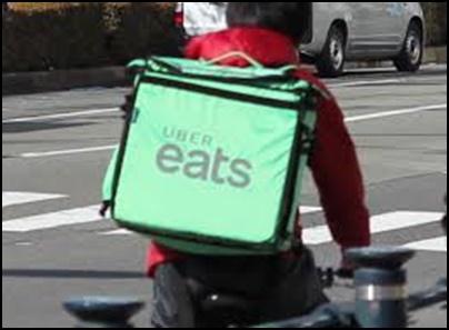Uber Eats ぐちゃぐちゃ 破損 トラブル 責任は誰? 配達員? 対策は?